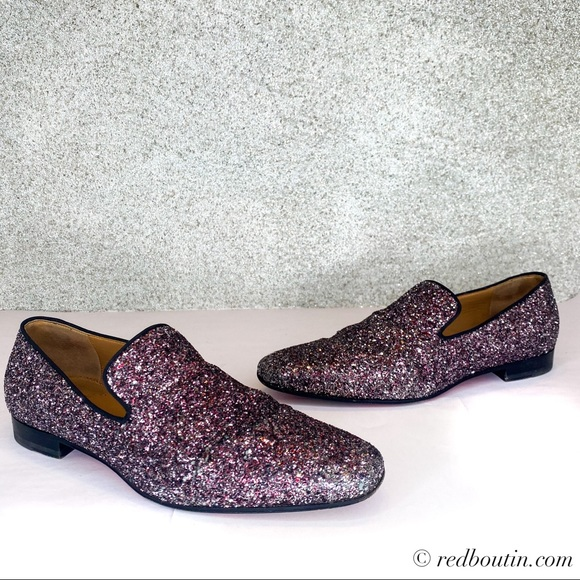 Christian Louboutin Other - Christian Louboutin Mens loafer flat dandy sparkle